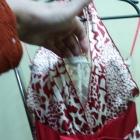 asymetryczna sukienka zwiewna lekka