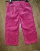 sztruksowe ciepłe lekkie spodnie...