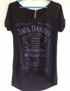 Jack Daniels koszulka elastyczna dłuższy tył uniwersalna XS S M...