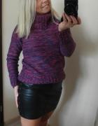 Sweter z golfem...