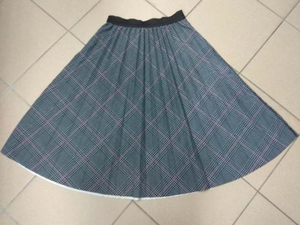 Spódnica kratka plisowana 40 42 L XL
