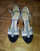 Sandały Jennifer 40 wysoki obcas