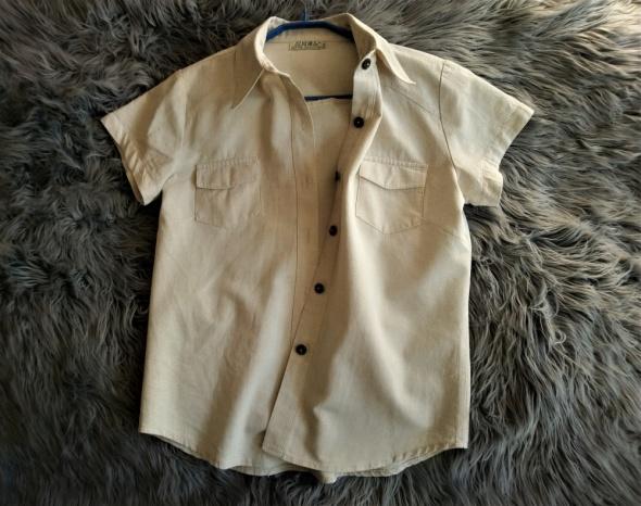Koszulowa bluzka 42 bawełnalen