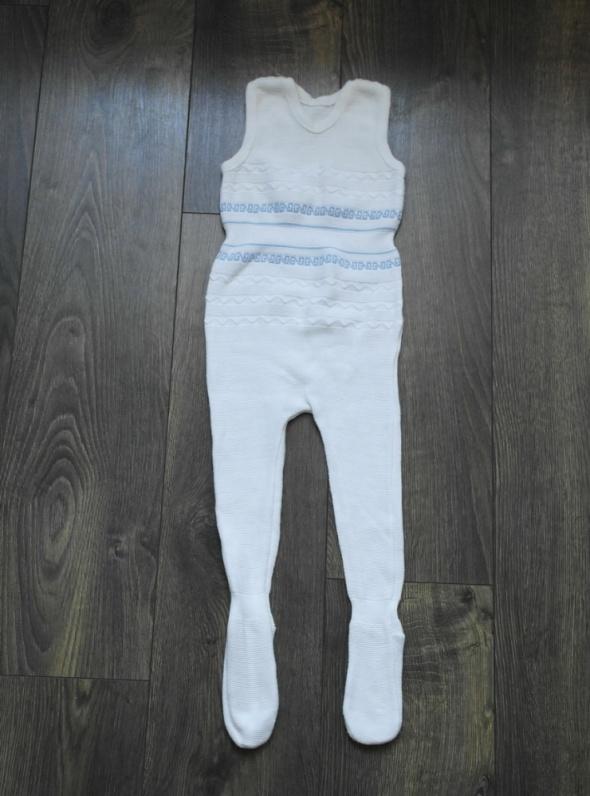Śpiochy białe i body seledynowe 86...