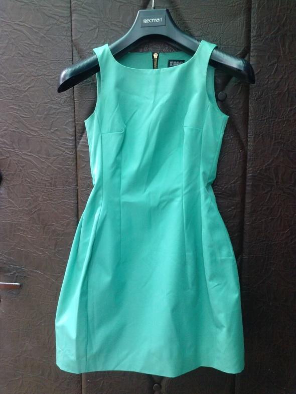 Zielona sukienka na zamek Emo Xs