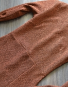 bandażowa sukienka sylwester cekiny brokat 38 M