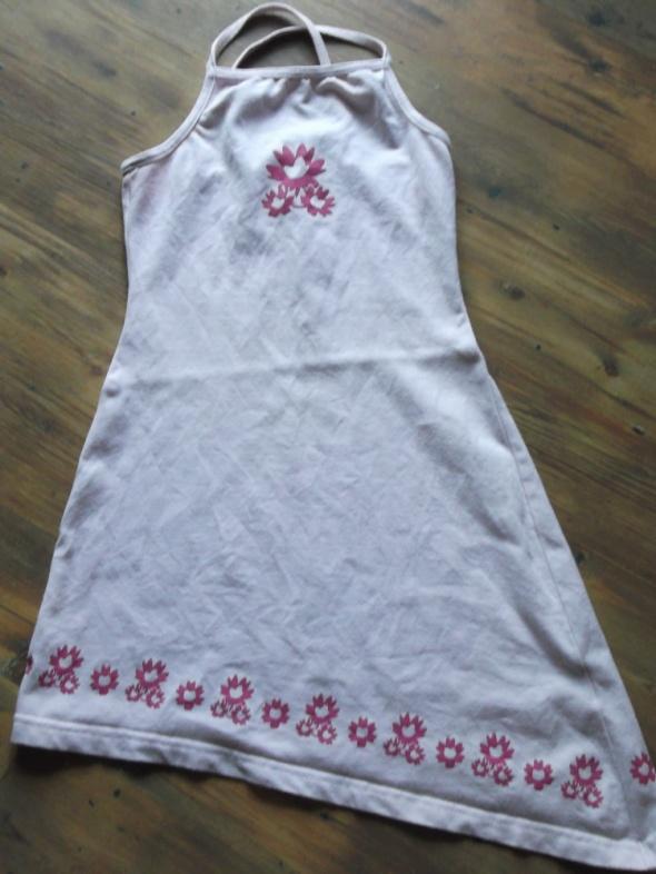 Asymetryczna sukienka rozmiar 116