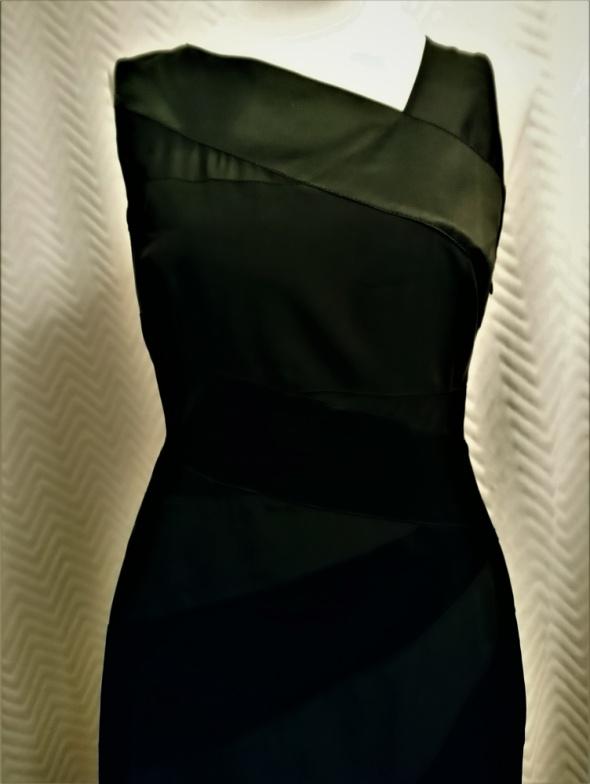 Sukienka mała czarna bardzo elegancka S Karen Millen