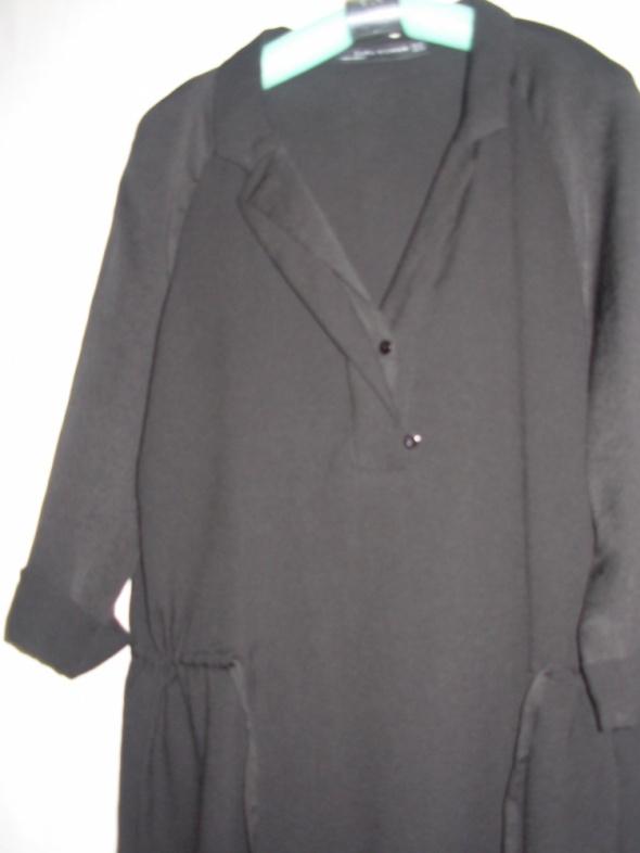 Czarna tunika Zara XS większa...