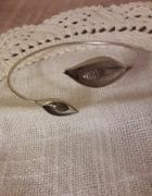 Srebrna bransoleta kalie artystyczna...
