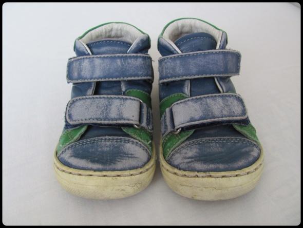 Emel buty trzewiki dla chłopca skórzane rozmiar 23