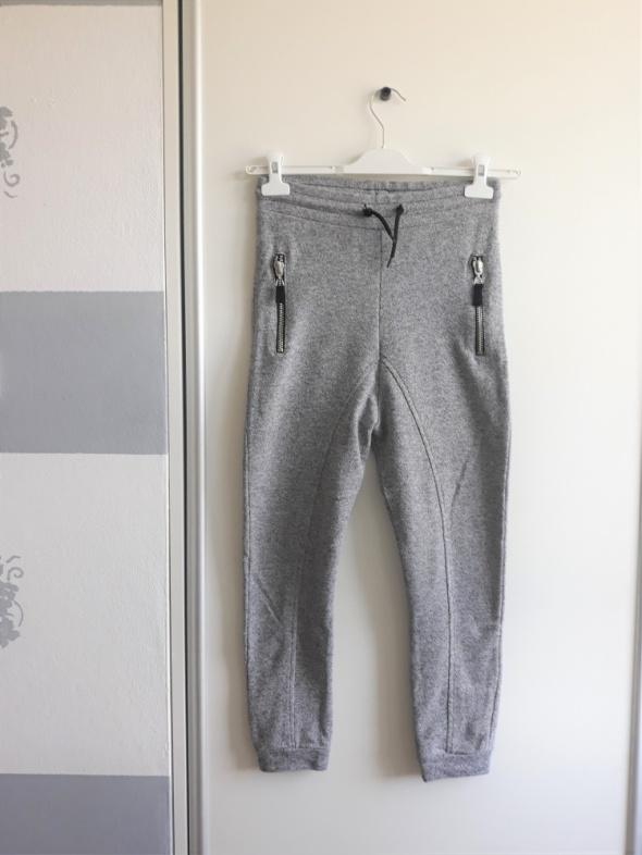 Spodenki Szare dresowe spodnie