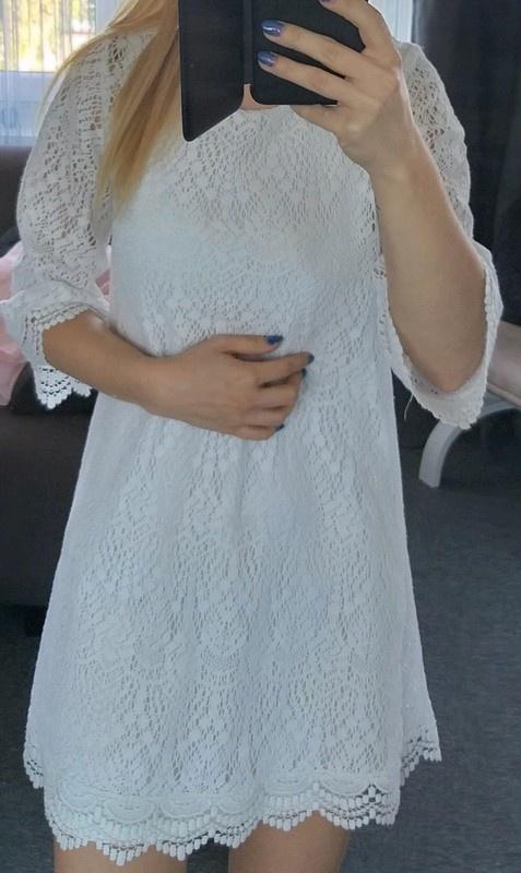 Sukienka koronkowa H&M S