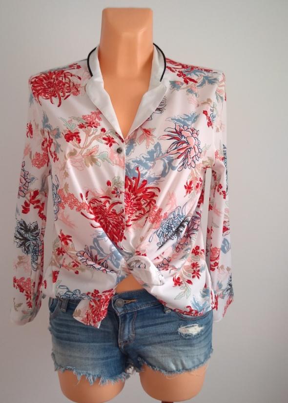 Koszula w kwiaty S