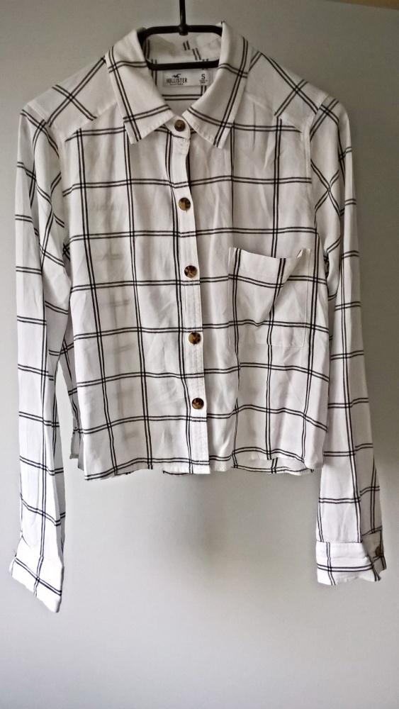 Koszulowa bluzka Hollister S M Basic