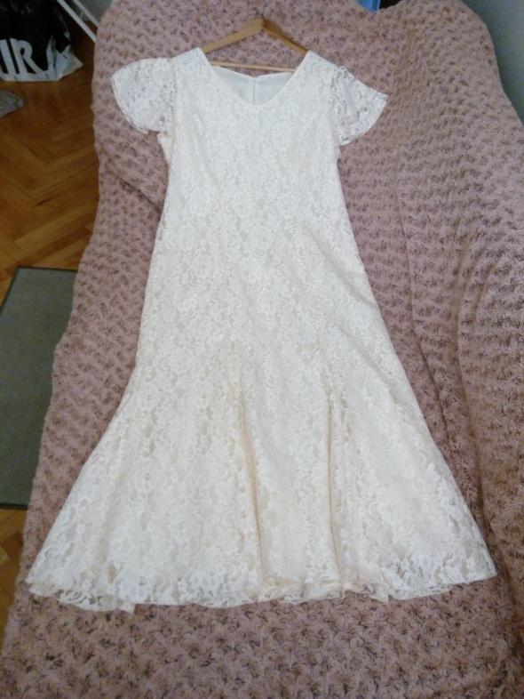 Suknie i sukienki Unikalna Suknia Ślubna