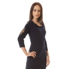 Semper r44 Sexy mala czarna z mega modnym welurowym akcentem