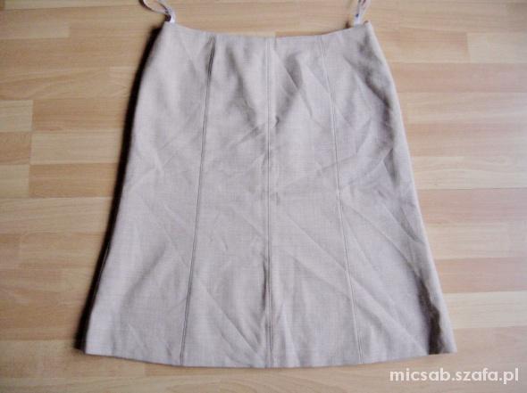 NEXT śliczna spódnica wełna i poliester UK 14