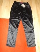 Nowe czarne spodnie joggery BooHoo L do XL...