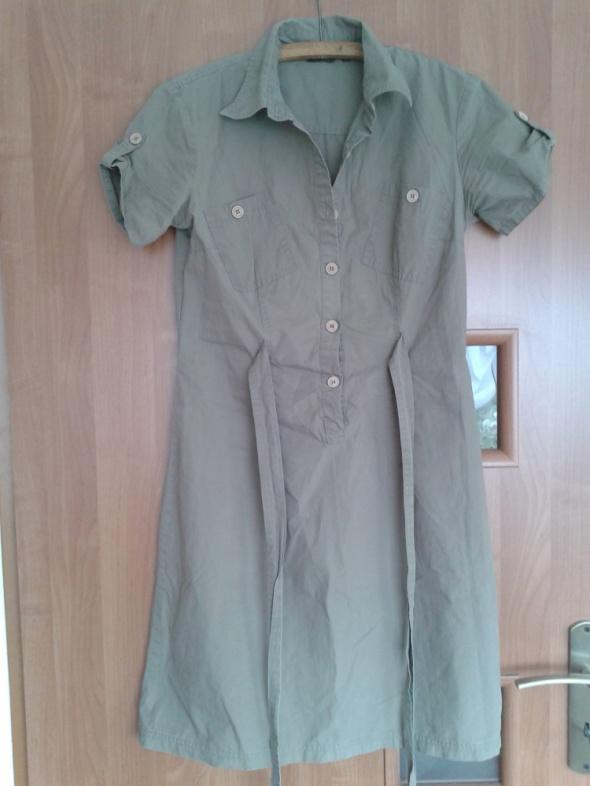 Suknie i sukienki Super sukienka koszulowa M