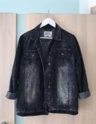 Super kurtka jeansowa oversize cieniowana...
