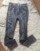 Jeansy imitacja jeansów rozmiar uniwersalny...