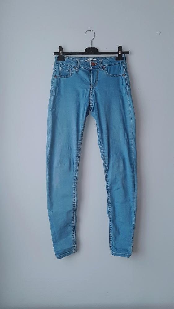 Spodnie jeansy rurki xs