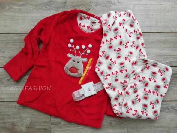 Atmosphere piżama świąteczna renifery pod choinkę 42 44