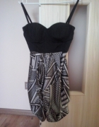 Śliczna sukienka Amisu XS
