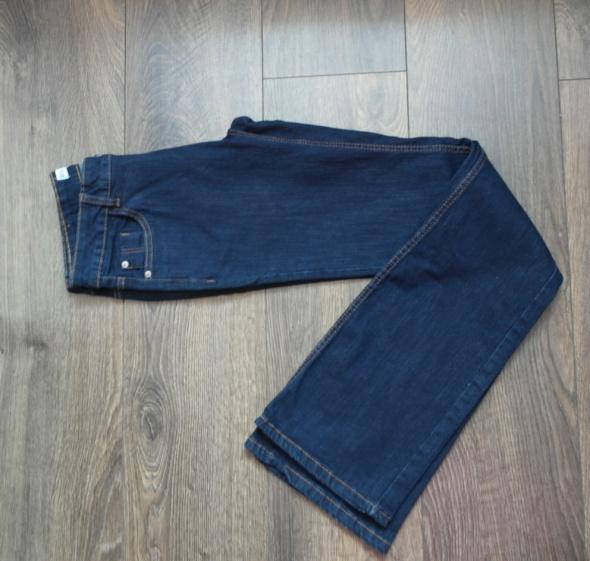 Nowe spodnie ciemny jeans 38