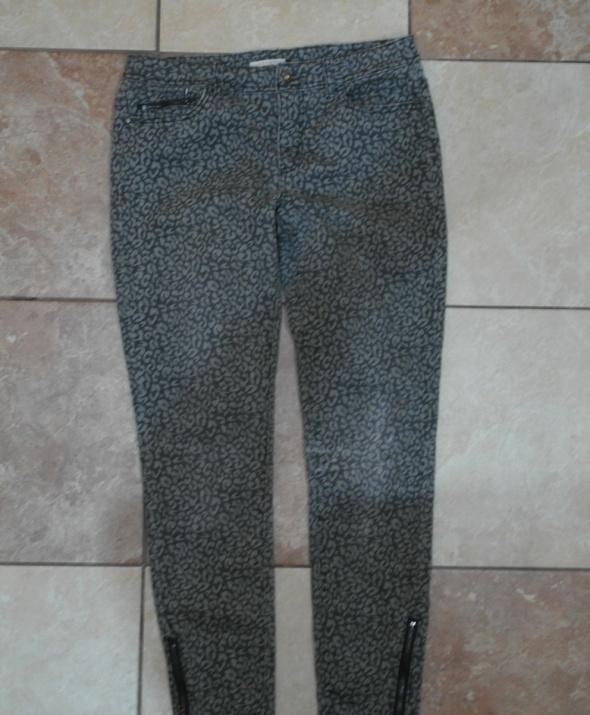 Spodnie rurki odcienie szarości 36