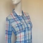 Hollister kolorowa koszula kratka wiosenna xs s 34