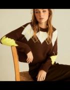 stradivarius modny sweter stan idealny...