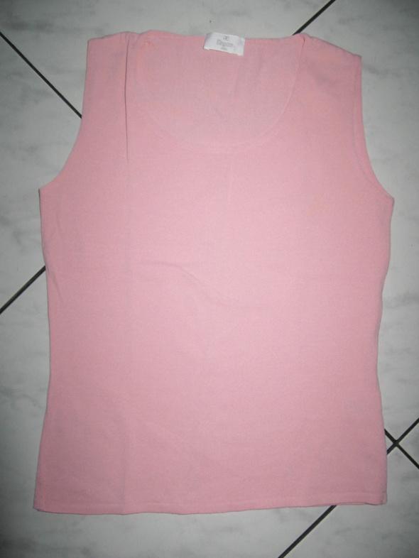 ELEGANCE różowa bluzka top damski roz 38