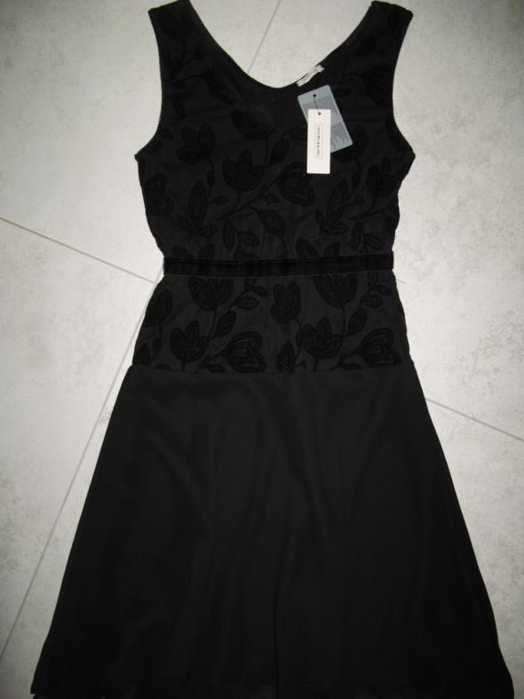INTIMISSIMI czarna sukienka w stylu lat 20 roz 36
