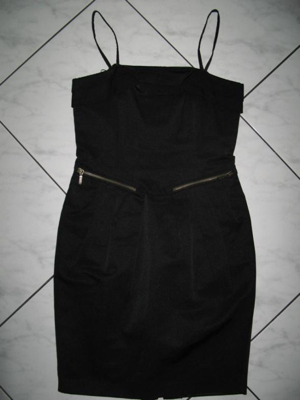 NEXT czarna sukienka z fiszbinami roz 34
