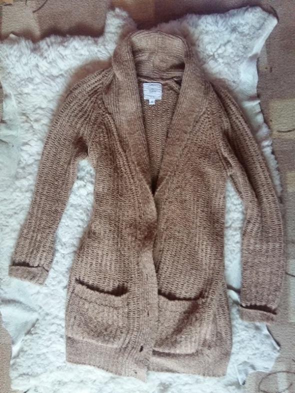 Swetry Kardigan karmelowy New Look