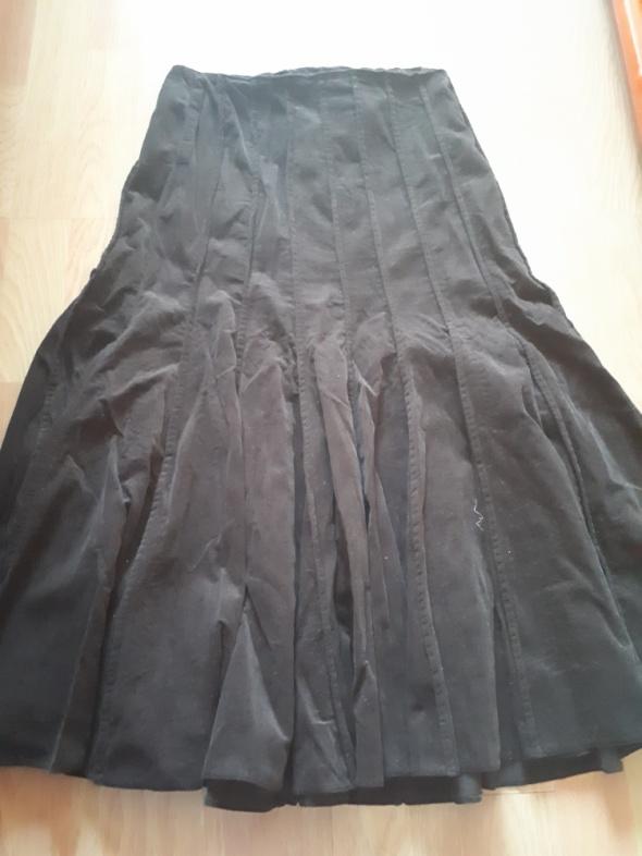 Brązowa spódnica Camaieu bawełna