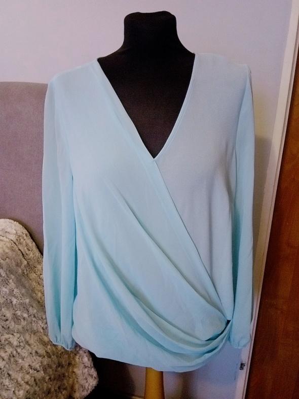 Elegancka bluzka w miętowym kolorze &lt3