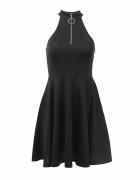 Sukienka z zamkiem 38 M gothic gotycka punk NOWA...