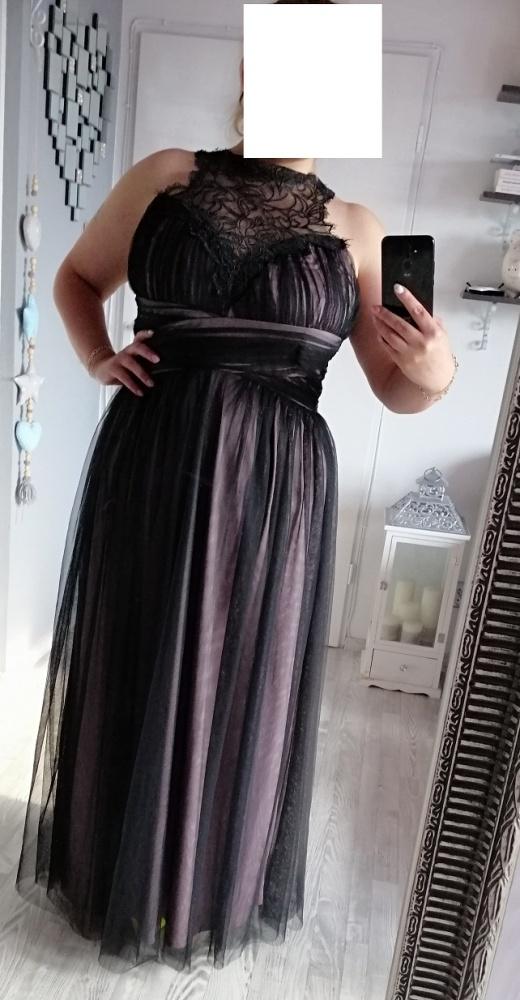 Nowa sukienka maxi koronka tiul 46 48 50