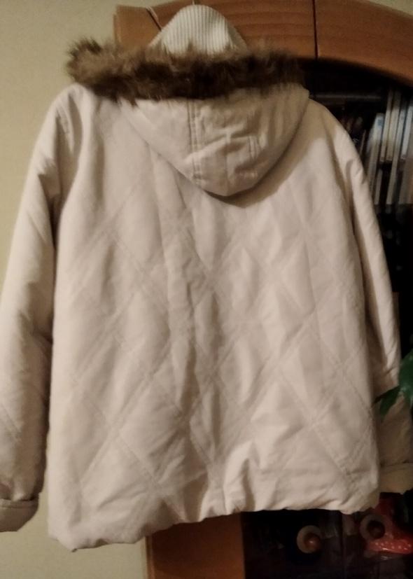 kurtka zimowa śliczna prawie nowa damska XL...