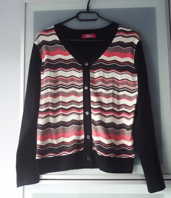 sweterek w azteckie wzory rozmiar S