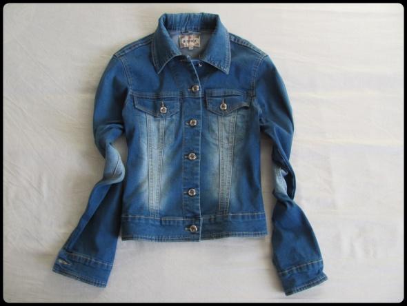 Katana jeansowa lekka kurtka rozmiar 36 S stan bdb
