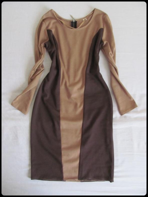 Piękna prosta sukienka w świetnym stanie 38 M