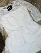 Nowa koronkowa sukienko tunika baskinka