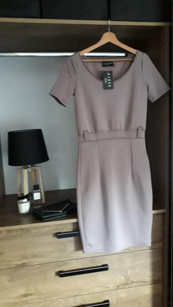 Sukienka wrzosowa