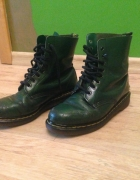 Zielone glany Dr Martens...
