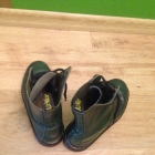 Zielone glany Dr Martens