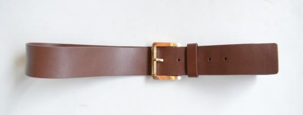 Pasek Brązowy NOWY Michael Kors Skórzany XL 42 105 cm